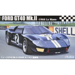 Fujimi 126036 RS-16 1/24 Ford GT40 Mk-II `66 LeMans Winner