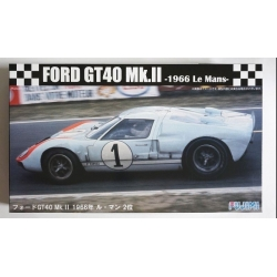 Fujimi 126043 RS-32 1/24 Ford GT40 Mk-II `66 LeMans 2nd