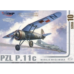 MIRAGE HOBBY 481001 1/48 PZL P.11c Hunting Version