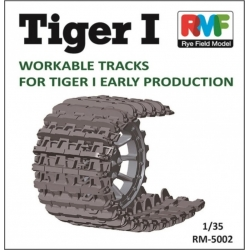 Rye Field Model RM-5002 1/35 Tiger I Workable Tracks for Tiger I Early Production