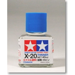 Tamiya 80030 Enamel Paint Thinner X20 40ml