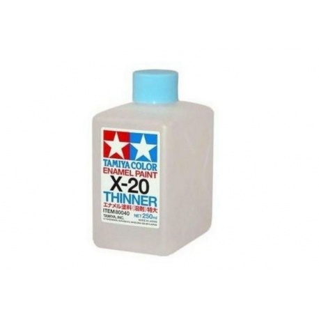 Tamiya 80040 Enamel Paint Thinner X20 250ml