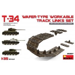 Miniart 35207 1/35 Wafer-Type Workable Track Links Set