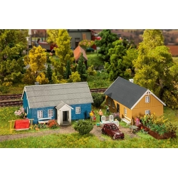 Faller 130506 HO 1/87 2 Maisons de vacances - 2 Holiday homes