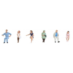 Faller 150291 HO 1/87 Sitting people
