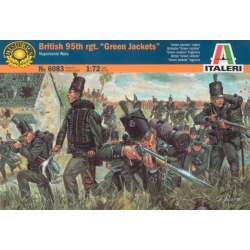 "ITALERI 6083 1/72 95ème Régiment Anglais – British 95th Regiment ""Green Jackets"""