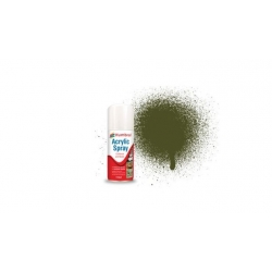 HUMBROL AD6155 Peinture Spray Olive Drab 150ml Matt