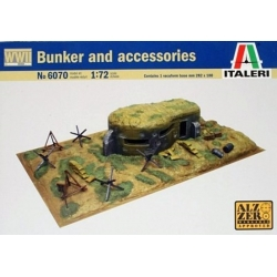 ITALERI 6070 1/72 Bunker and Accessories