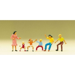 Preiser 24652 HO 1/87 Figurines Manèges – Figures for Roundabout