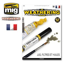 AMMO OF MIG A.MIG-4266 The Weathering Magazine Issue 17 Jus Filtres Et Huiles FR