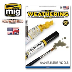 AMMO BY MIG A.MIG-4516 The Weathering Magazine 17 Washes Filters And Oils ENG