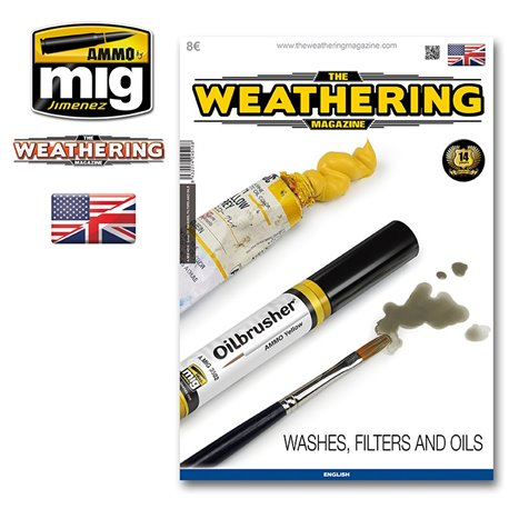 AMMO OF MIG A.MIG-4516 The Weathering Magazine Issue 17 Washes Filters And Oils ENG