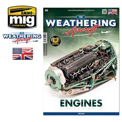 AMMO OF MIG A.MIG-5203 The Weathering Aircraft TWA Issue 3 Engines ENG