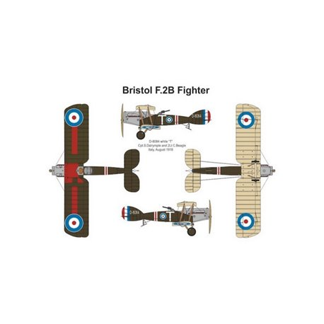 VALOM 14415 1/144 Bristol F2B Fighter (Dual Combo with 2 kits)