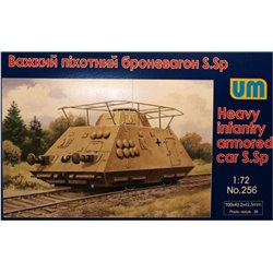 UNIMODELS 256 1/72 Heavy Infantry Armored Car S.Sp