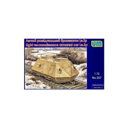 UNIMODELS 257 1/72 Light Rconnaissance Armored Car Le.Sp