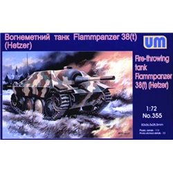 UNIMODELS 355 1/72 Fire-Throwing Tank Flammpanzer 38(t) Hetzer