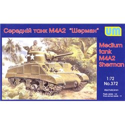 UNIMODELS 372 1/72 M4A2 (75) Sherman Medium Tank