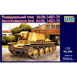 UNIMODELS 396 1/72 Reconnaissance tank Sd.Kfz. 140/1-75