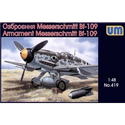 UNIMODELS 419 1/48 Armament Messerschmitt Bf 109