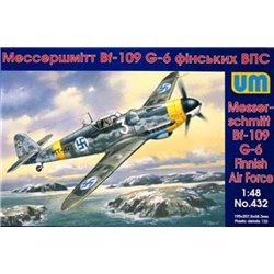 UNIMODELS 432 1/48 Messerschmitt Bf 109 G-6 Finnish Air Force