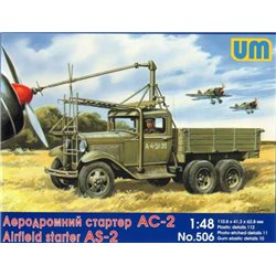 UNIMODELS 506 1/48 Airfield starter AS-2 chassis