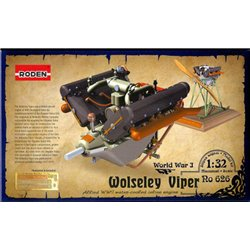 RODEN 626 1/32 Wolseley Viper Allied WWI Water-Cooled Inline Engine