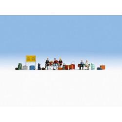 Faller 150928 HO 1/87 Sapeurs-pompiers modernes - Modern firemen