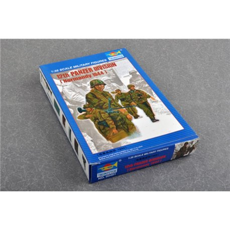 TRUMPETER 00401 1/35 12th Panzer Division Normandy 1944