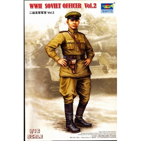 TRUMPETER 00704 1/16 WW II Soviet Officer Vol.2