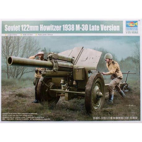 TRUMPETER 02344 1/35 Soviet 122 mm Howitzer 1938 M-30 Late Version
