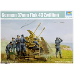 Trumpeter 02347 1/35 German 37mm Flak 43 Zwilling*