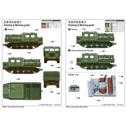 TRUMPETER 07252 1/72 FAMO Sd.Kfz. 9 F3 spät Schwerer Zugkraftwagen 18T