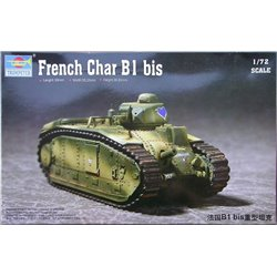 TRUMPETER 07263 1/72 French Char B1 bis