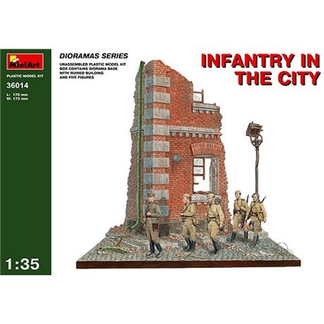 Miniart 36014 1/35 Infantry In The City