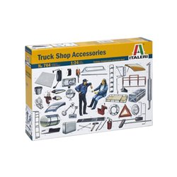 ITALERI 764 1/24 Truck Shop Accessories