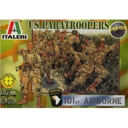 ITALERI 6063 1/72 U.S. Paratroopers WWII