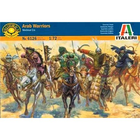ITALERI 6126 1/72 Guerriers Arabes – Arab Warriors