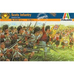 ITALERI 6136 1/72 Napoleonic Scots Infantry