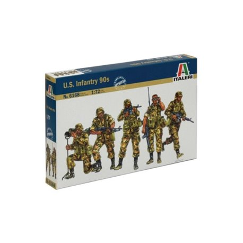 ITALERI 6168 1/72 Infanterie U.S. Années 90 – U.S. Infantry 90s