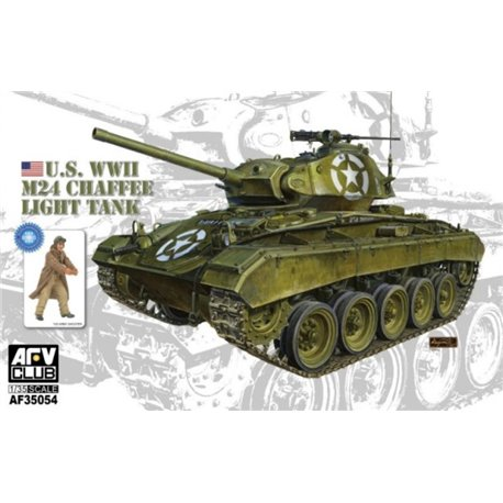 AFV Club AF35054 1/35 U.S. WWII M24 Chaffee Light Tank