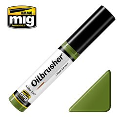 AMMO OF MIG A.MIG-3505 Oilbrusher Vert Olive – Olive Green