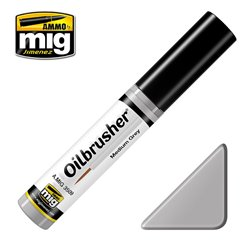 AMMO OF MIG A.MIG-3509 Oilbrusher Gris Moyen – Medium Grey