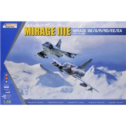 Kinetic KIN48050 1/48 Mirage IIIE Mirage IIIE/O/R/RD/EE/EA