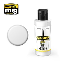 AMMO OF MIG A.MIG-2022 One Shot Primer White 60ml
