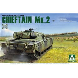 Takom TAKO2040 1/35 British Main Battle Tank Chieftain Mk.2