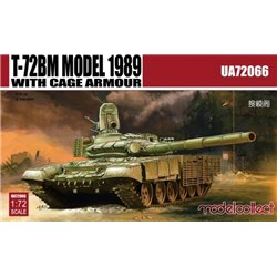 Modelcollect UA72066 1/72 T-72BM Model 1989 with Cage Armour