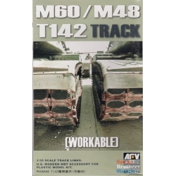 AFV CLUB AF35010 1/35 M60/M48 T142 Track Workable