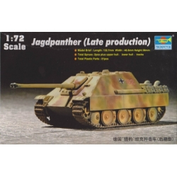 Trumpeter 07272 1/72 Jagdpanther (Late production)