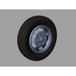 PANZER ART RE35-406 Steyr 1500 Road wheels (Commercial pattern)